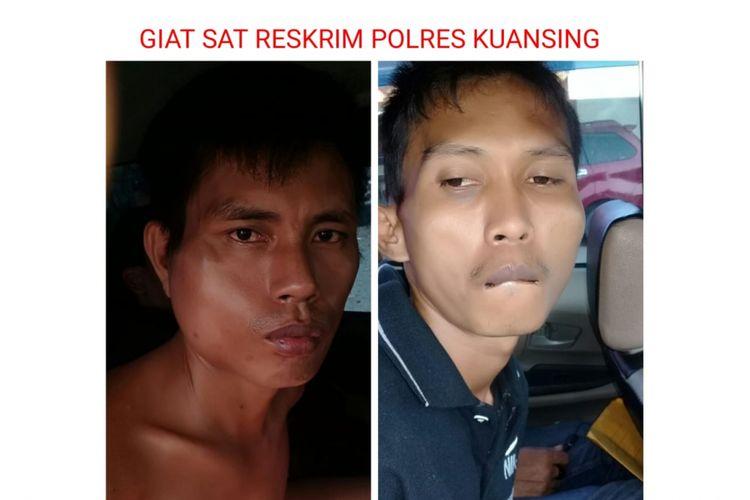 Dua pelaku perampokan sopir taksi online ditangkap polisi di Lampung.