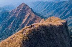 Gunung Piramid Belum Jadi Daya Tarik Wisata, Diimbau Tidak Mendaki