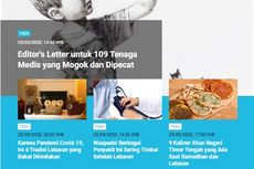 [POPULER TREN] Editor's Letter 109 Tenaga Medis Dipecat | 4 Negara Terapkan Jam Malam Saat Lebaran