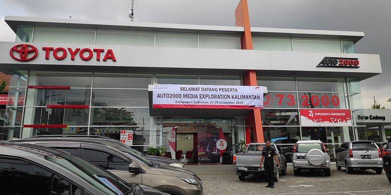Auto2000 Balikpapan Sudirman sebagai salah satu diler penjualan Toyota di Kalimantan Timur