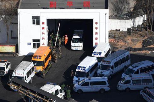 Tambang Batu Bara di China Runtuh, 21 Penambang Tewas