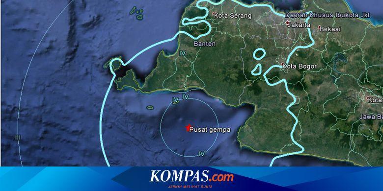 Gempa Banten Mungkinkah Gempa Aceh 2004 Terulang Halaman All Kompas Com