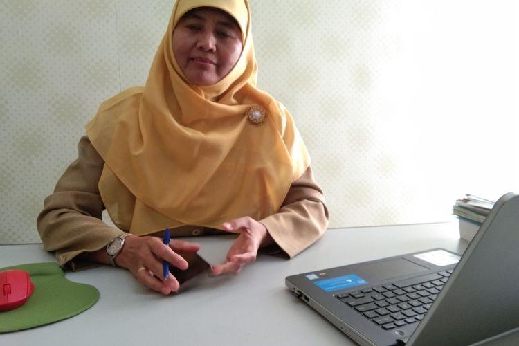 Kepala Bidang Pencegahan dan Pengendalian Penyakit (P2P) Dinas Kesehatan Kabupaten Karawang Yayuk Sri Rahayu