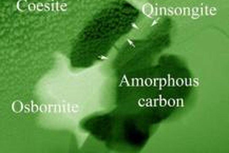 Ilmuwan menemukan mineral baru bernama Qinsongite.