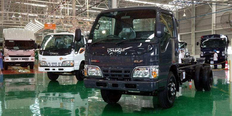 ELF siap jadi andalan ekspor Isuzu dari Indonesia.