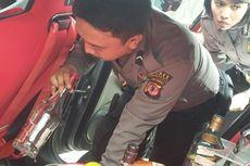 Selain Senjata Api, Polisi Temukan Botol Miras dalam Mobil Milik Mahasiswi