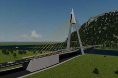 Satu-satunya Akses Darat ke Pulau Samosir, Tano Ponggol Dilengkapi Jembatan Cable Stayed