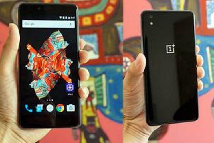 OnePlus memperkenalkan smartphone Android ketiganya, OnePlus X di Indonesia, Kamis (29/10/2015).