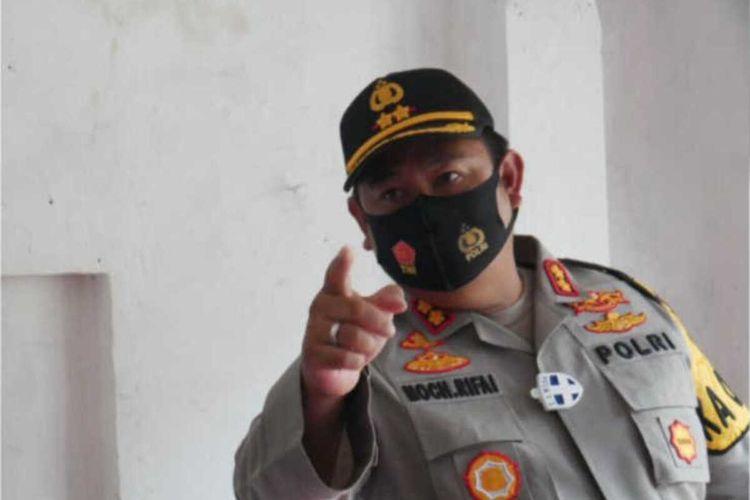 Kapolres Cianjur AKBP Mochamad Rifai mengngatkan peserta Pilkada Cianjur 2020 untuk taat pada protokol kesehatan Covid-19. Jika abai akan dipidanakan.