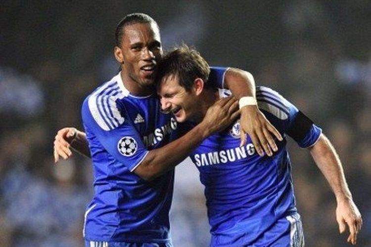 Frank Lampard semasa masih menjadi pemain Chelsea.