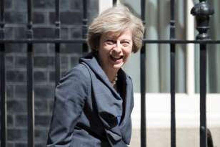 Pemimpin Partai Konservatif Inggris, Theresa May.