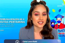 Cinta Laura Beri Tips untuk Mahasiswa agar Sukses di Dunia Kerja