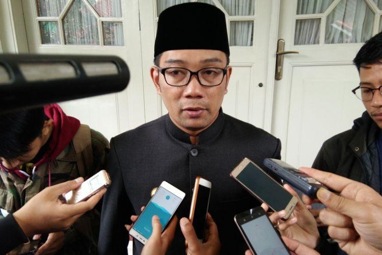 Wali Kota Bandung Ridwan Kamil saat ditemui di Pendopo Kota Bandung, Jalan Dalemkaum, Selasa (26/6/2018).