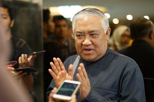 Soal Revisi UU Pemilu, Din Syamsuddin Usul DPR Buat RUU Omnibus Law Politik