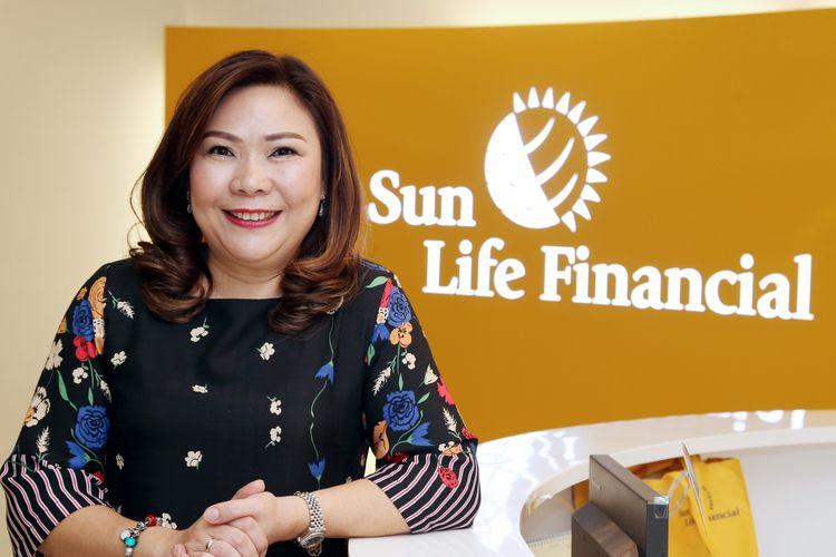 Presiden Direktur Sun Life Indonesia Elin Waty