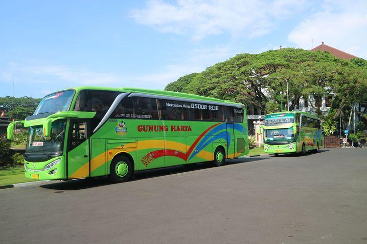 Bus AKAP PO Gunung Harta