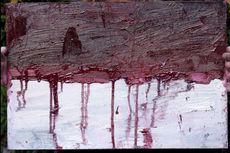 Lukisan Merah Putih dengan Tetesan Darah Karya Terpidana Mati Sukumaran