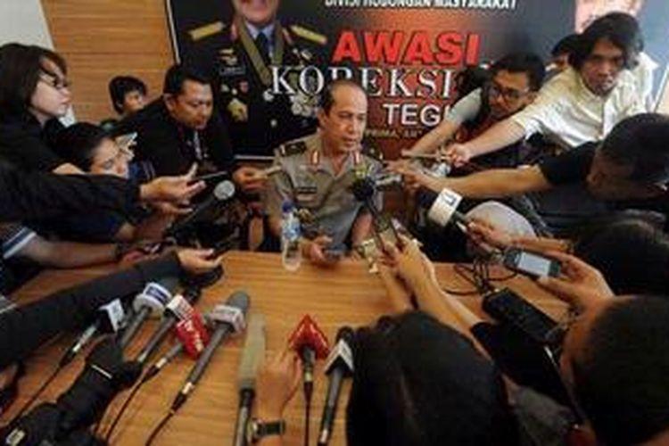 Kepala Divisi Hubungan Masyarakat Kepolisian Republik Indonesia (Polri) Brigadir Jenderal Boy Rafli Amar