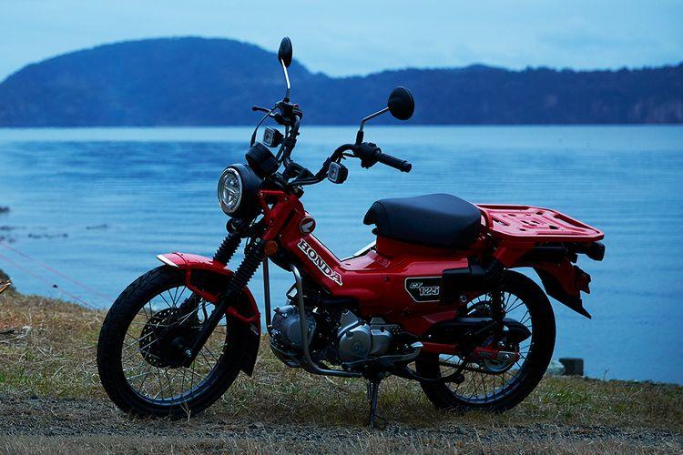 Honda CT125 resmi meluncur di Indonesia