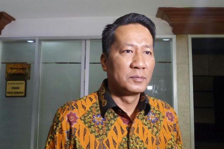 Ketua badan Legislasi DPR RI Supratman Andi Agtas di Kompleks Parlemen, Senayan, Jakarta, Selasa (22/11/2016)