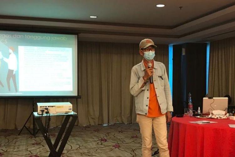 Widodo (52) penderita HIV yang bangkit melawan stigma dengan membantu sesama ODHA.