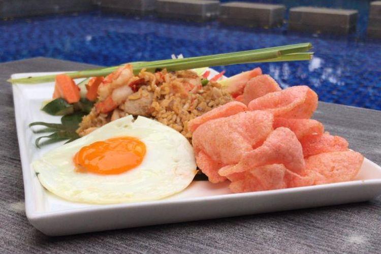 Nasi mawut lockdown dari Swiss-Belhotel Pondok Indah Jakarta