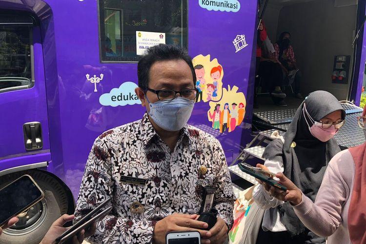 Heroe Poerwadi saat ditemui di Bali Kota Yogyakarta, Kamis (2/8/2021)