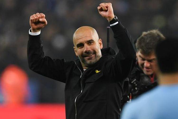 Pep Guardiola masuk ke dalam bursa calon pelatih Juventus musim 2019/2020, Kamis (25/4/2019)