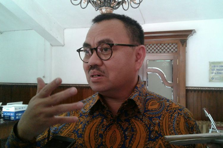 Mantan Menteri Energi dan Sumber Daya Mineral (ESDM) Sudirman Said di Solo, Jawa Tengah, Sabtu (25/11/2017).