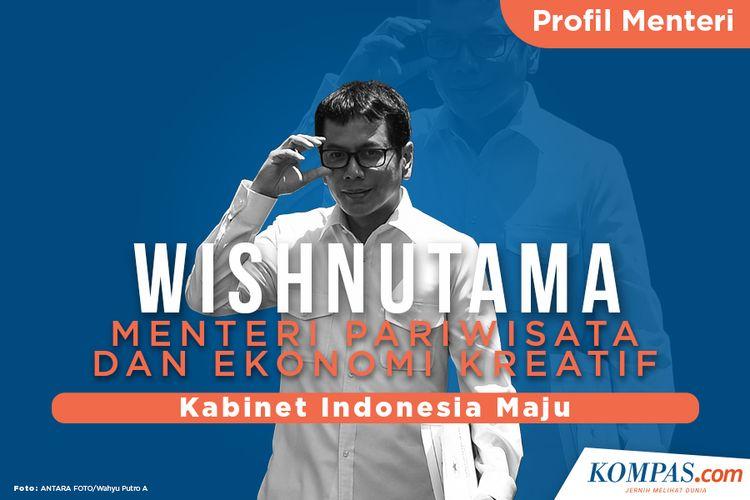 Profil Menteri, Wishnutama Menteri Pariwisata dan Ekonomi Kreatif