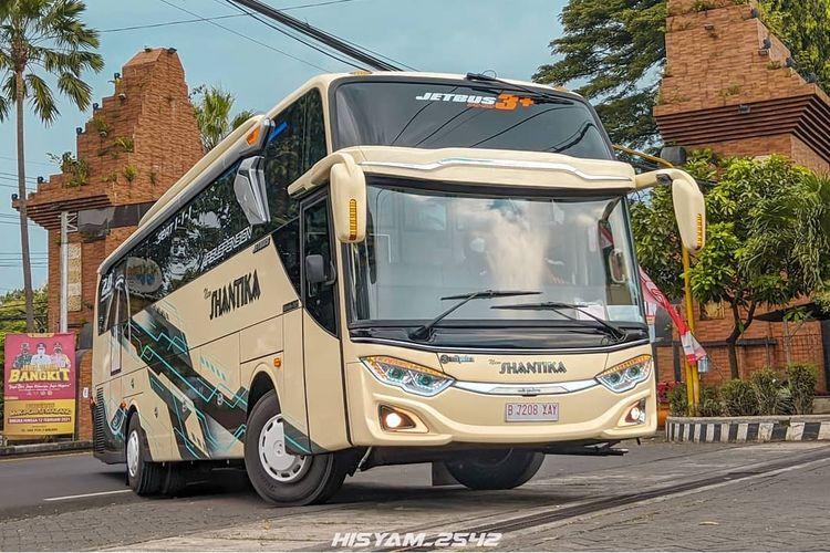 Bus AKAP baru PO New Shantik