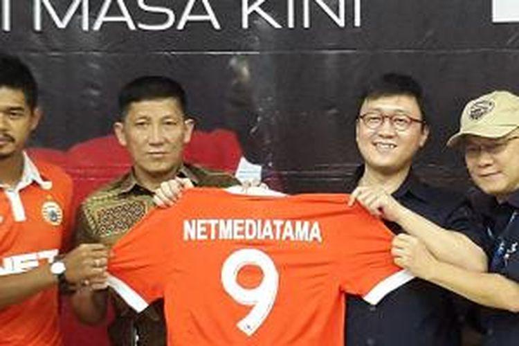 Persija Jakarta jalin kerja sama dengan NET.