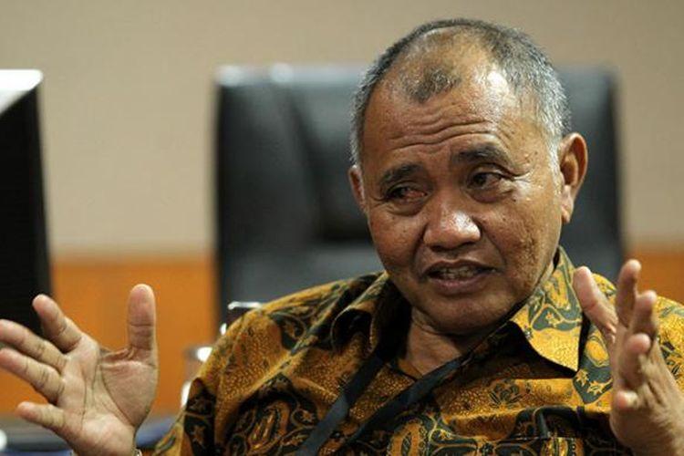 Ketua Komisi Pemberantasan Korupsi Agus Rahardjo saat wawancara khusus dengan Kompas.com di Gedung KPK, Jakarta, Selasa (16/2/2016). Agus menjadi pimpinan KPK untuk masa bakti 2015-2019.
