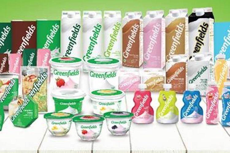 Seluruh rangkaian produk Greenfields.