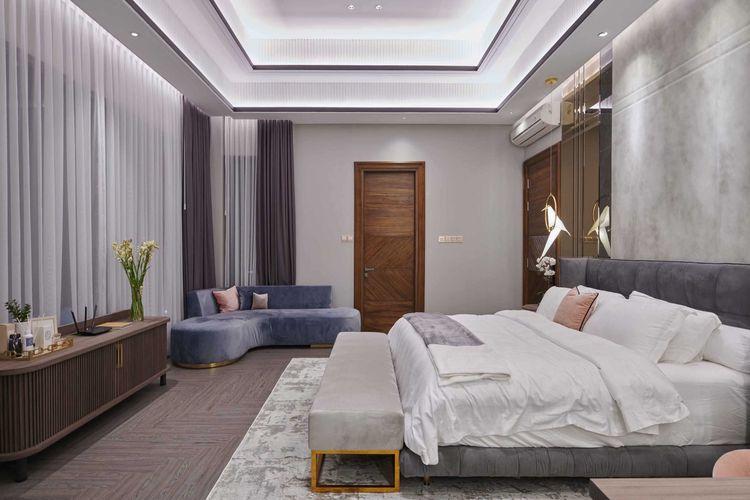 Furnitur minimalis mempercantik kamar tidur karya Studio Kuskus