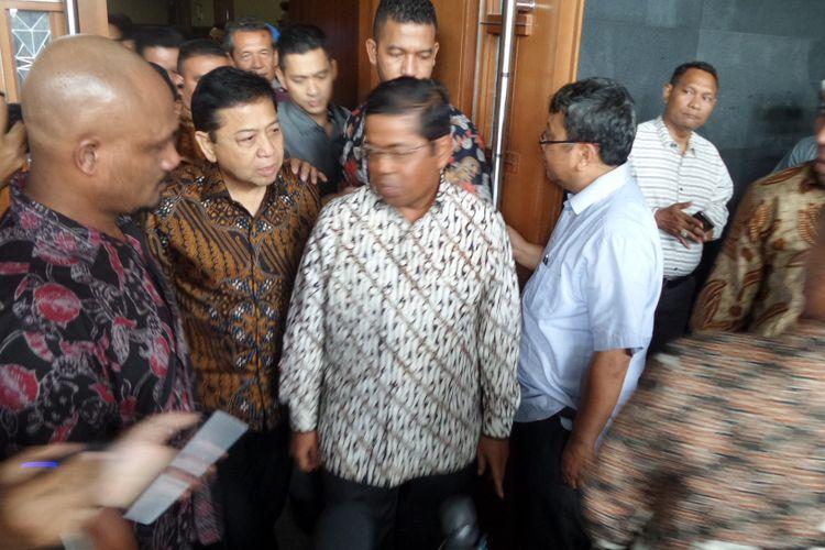 Ketua DPR Setya Novanto di Pengadilan Tipikor Jakarta, Kamis (6/4/2017).