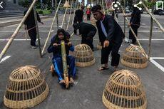 Jelang Pekan Kebudayaan, Kemendikbud Gelar Permainan Daerah di CFD