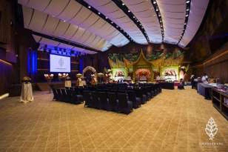 Salah satu resepsi pernikahan yang digelar di Soehanna Hall, Gedung The Energy, kawasan SCBD Jakarta.