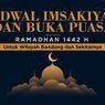 INFOGRAFIK: Jadwal Imsak dan Buka Puasa Bandung Selama Ramadhan 1442 H