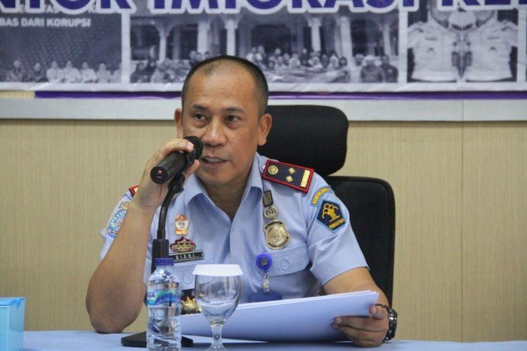 Kepala Kantor Imigrasi Kelas II Tempat Pemeriksaan Imigrasi (TPI) Cilacap, Bisri dalam pers rilis, Kamis (19/12/2019)