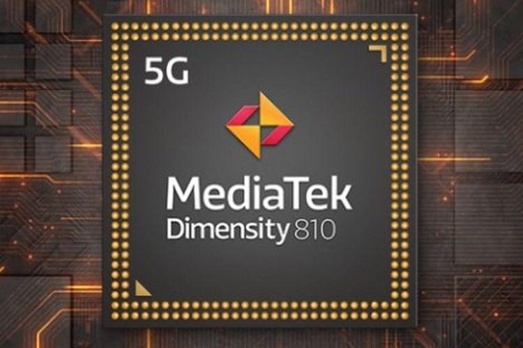 Chipset Mediatek Dimensity 810.