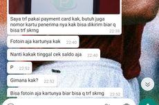 Viral Unggahan soal Modus Penipuan dengan Pemberian Nomor ATM, Ini Penjelasannya...