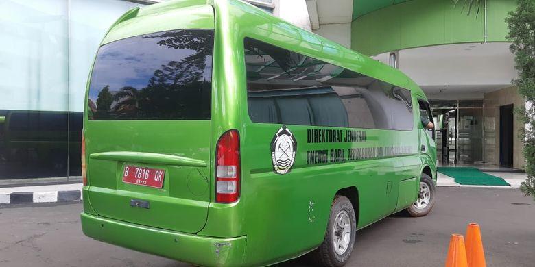 Hino Dutro 110, minibus yang akan dilelang pemerintah pada akhir April 2021.