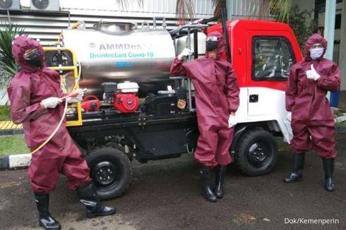 AMMDes Disulap Jadi Mobil Penyemprot Disinfektan