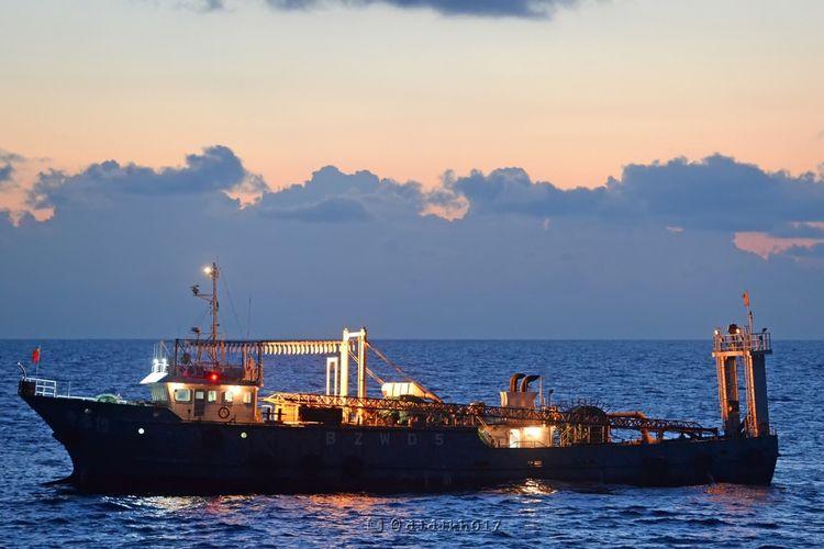 Penangkapan Illegal Fishing di Laut Natuna