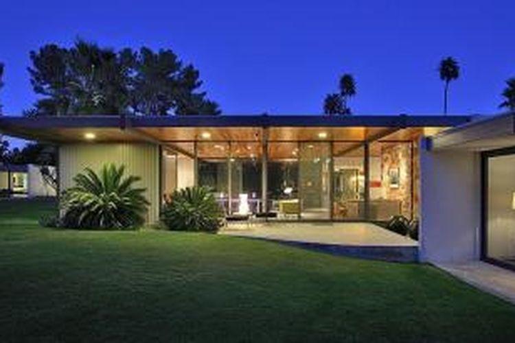 Villa milik Leonardo DiCaprio ini disewakan 4.500 dollar AS atau Rp 58 juta per malam.