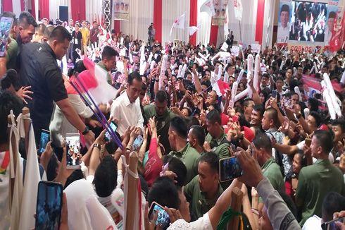 Jokowi Targetkan 70 Persen Suara di Kalimantan Tengah