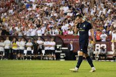 Ekspresi Tak Bahagia Gareth Bale Saat Pesta Juara Real Madrid