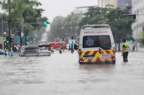 Singapura Dilanda Banjir Bandang, Ini Titik-Titik Lokasinya