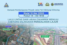 Selasa 12 Mei, Lalu Lintas Simpang Susun Cibitung Dialihkan ke MM2100